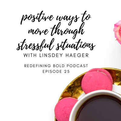 #25: Positive Ways to Move Through Stressful Situations with Guest, Linsdey Haeger from Enneagram 9 Stores